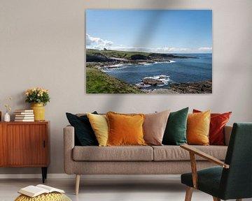 Cliffen langs de Ierse kustlijn van Daniel Van der Brug