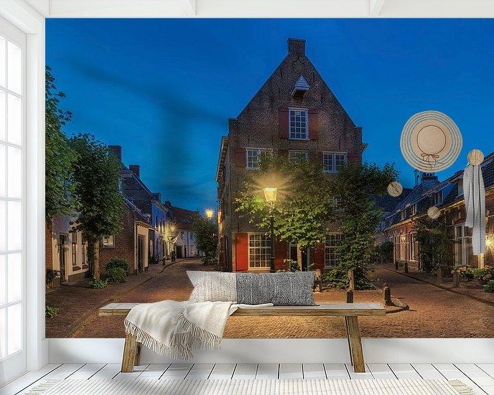 Sfeerimpressie behang: Pakhuis De Hoop Amersfoort van Jan Koppelaar