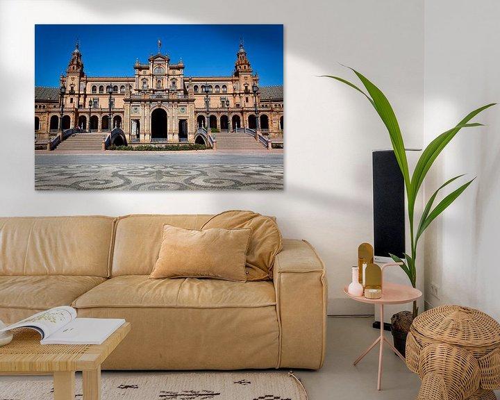 Sfeerimpressie: Koninklijk paleis in Sevilla van Jesse Meijers