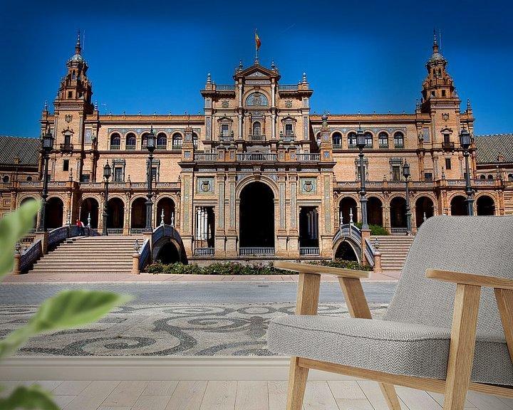 Sfeerimpressie behang: Koninklijk paleis in Sevilla van Jesse Meijers