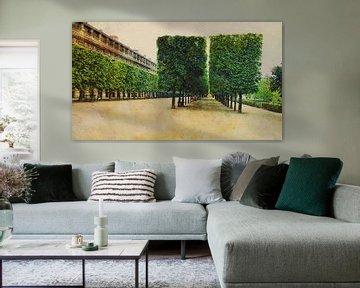Jardin du Palais Royal Paris van Joost Hogervorst
