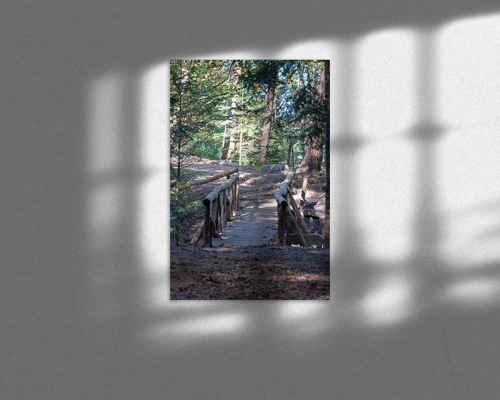 Beispiel: Waldweg Brücke. von Anjo ten Kate