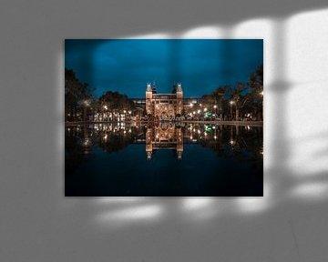 Rijksmuseum Amsterdam by Night van willemien kamps