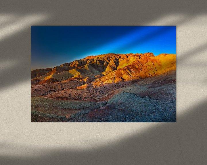 Sfeerimpressie: Rainbow Basin Natural Area - Barstow Californië van Remco Bosshard