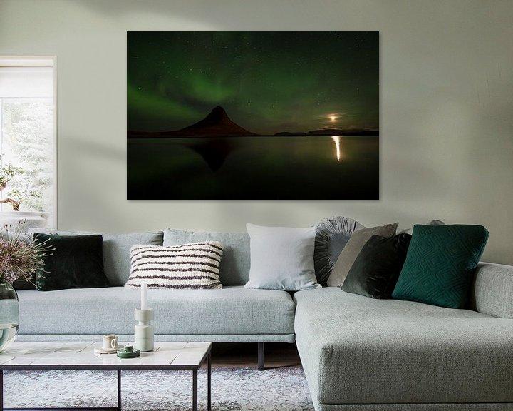Sfeerimpressie: Kirkjufell, IJsland van Freddy Van den Buijs