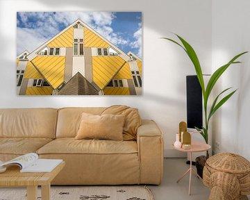 De Kubus huisjes van Marcel Derweduwen