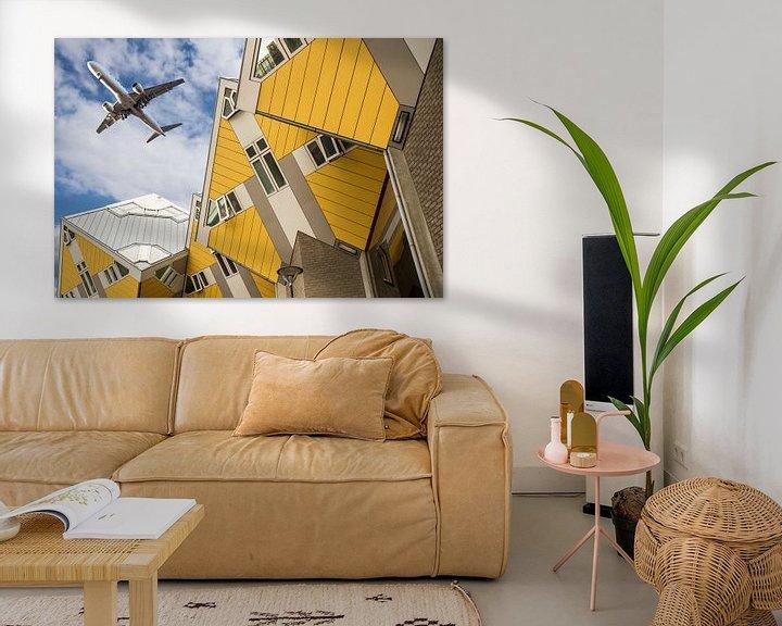 Sfeerimpressie: De Kubus huisjes van Marcel Derweduwen