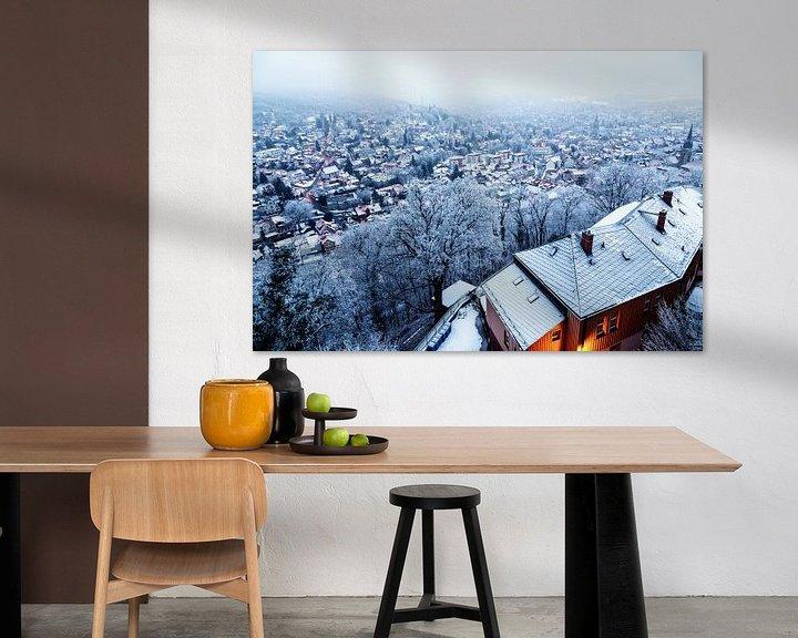 Beispiel: Wernigerode im Winter von Oliver Henze