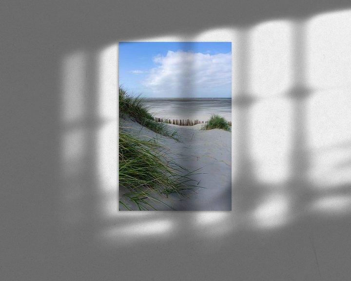 Beispiel: Küste Ameland, stehende Version. von Anjo ten Kate