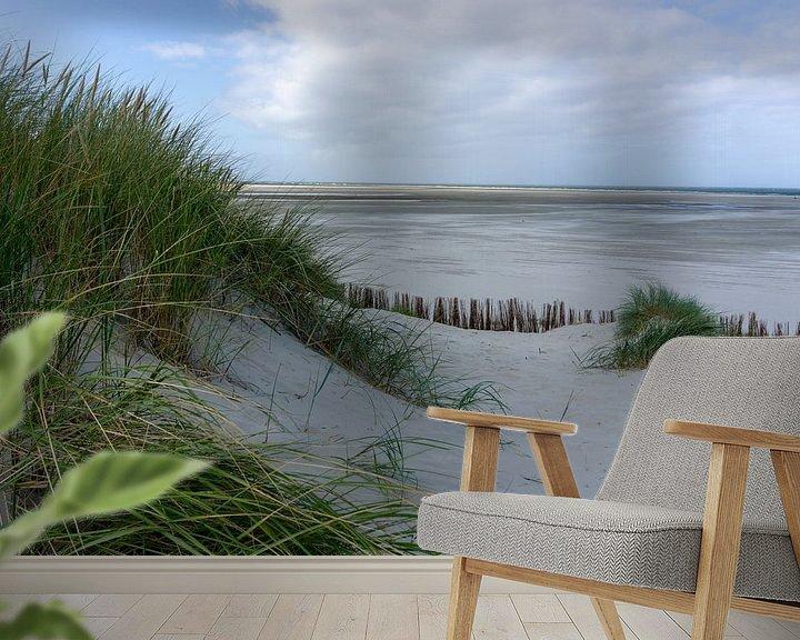 Beispiel fototapete: Küste Ameland. von Anjo ten Kate
