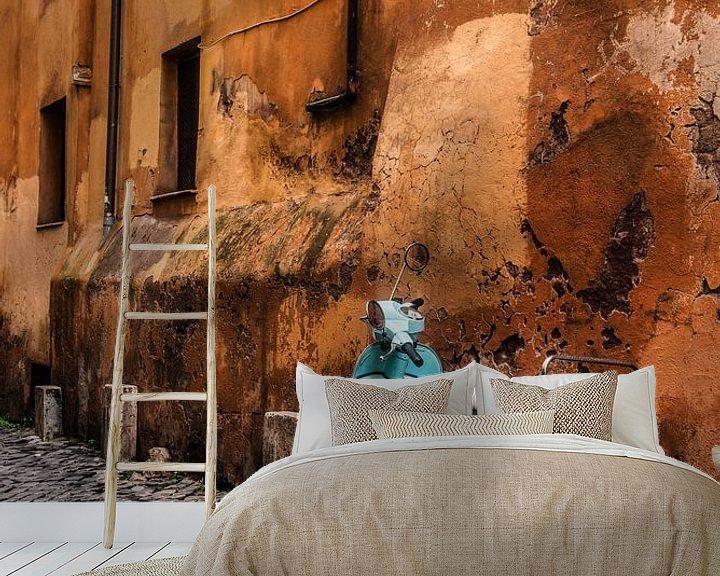 Beispiel fototapete: Vespa in Roma von Sander Strijdhorst