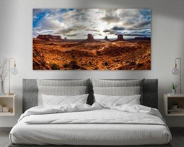 Monument valley van Dave Verstappen