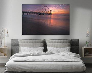 Zonsondergang Scheveningen von AdV Photography
