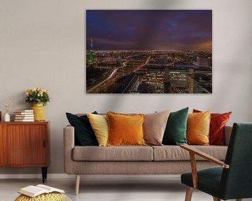 Rotterdam by Night von AdV Photography