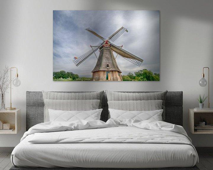 Sfeerimpressie: Reusachtige molen van Mark Bolijn