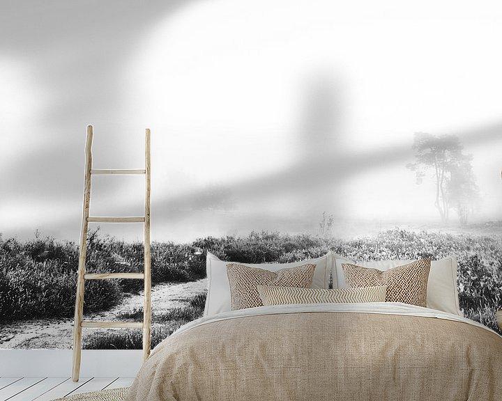 Sfeerimpressie behang: Misty morning van Lex Schulte