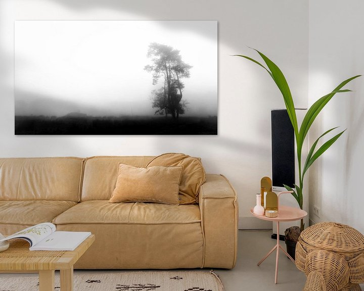 Sfeerimpressie: Eenzame boom van Lex Schulte