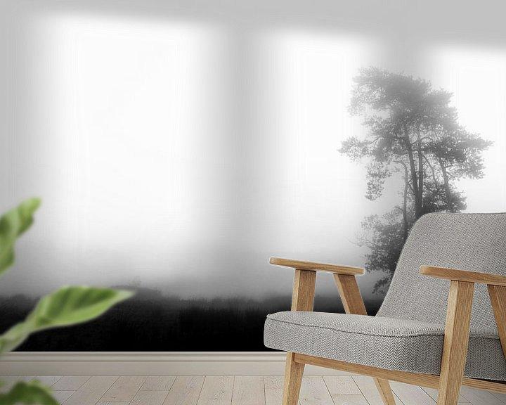 Sfeerimpressie behang: Eenzame boom van Lex Schulte