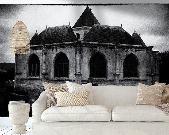 Sfeerimpressie behang: spookachtig van Ger Nielen