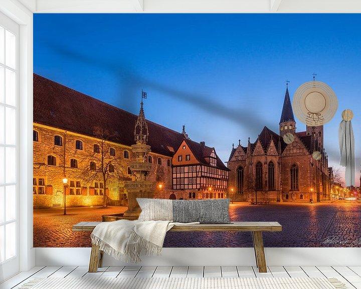Beispiel fototapete: Altstadtmarkt von Patrice von Collani