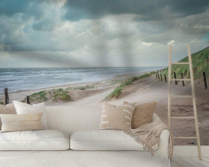 Sfeerimpressie behang: Landschap Kust van Original Mostert Photography