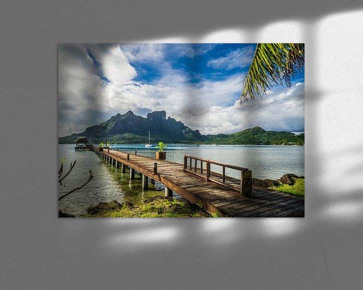 Sfeerimpressie: Steiger op Bora Bora van Ralf van de Veerdonk