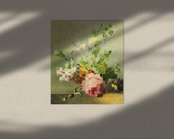 Sfeerimpressie: Mozaïek van een stilleven (VT Wonen & Design Beurs 2019) van Marja van den Hurk