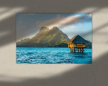 Overwater Bungalow op Bora Bora