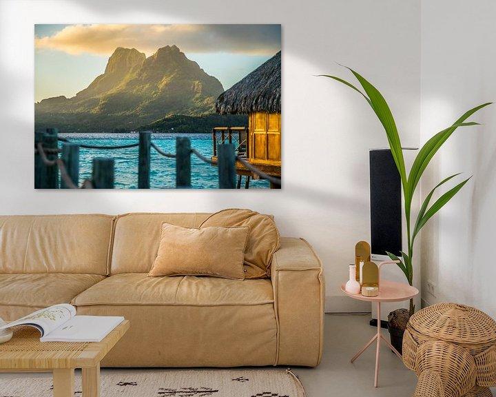 Sfeerimpressie: Mount Otemanu Bora Bora van Ralf van de Veerdonk