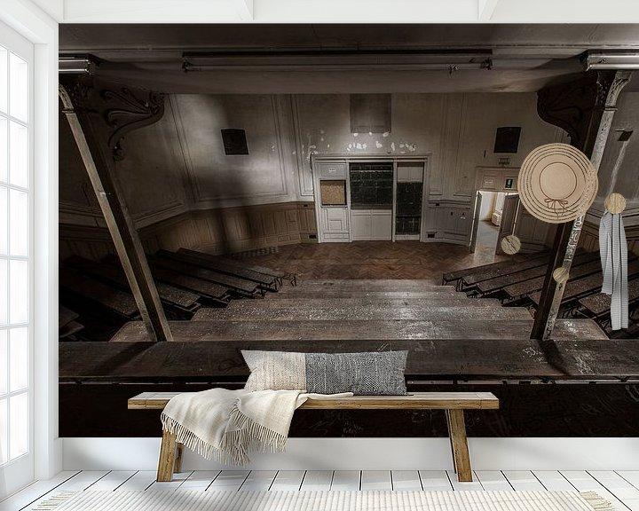 Sfeerimpressie behang: Aula van Olivier Photography