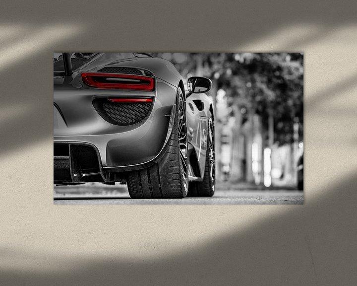 Impression: Porsche 918 Spyder sur Martijn van Dellen