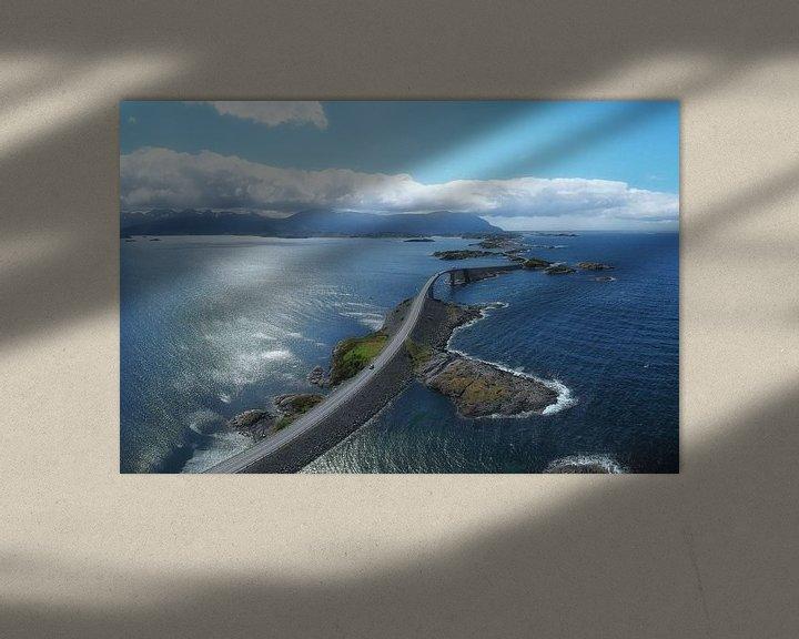 Sfeerimpressie: Atlantic Road van Roelof Nijholt