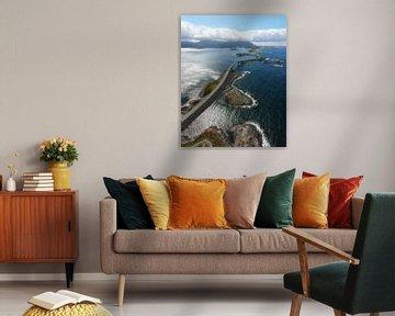 Atlantic Road (verticaal) van Roelof Nijholt