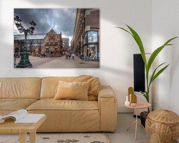 Groningen, Goudgebouw, Overdekt Waagstraatcomplex von Tony Unitly