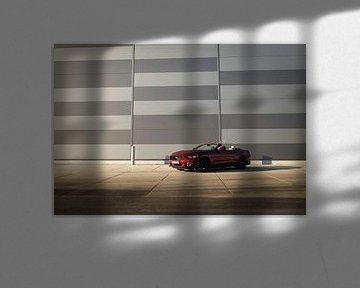 Roter Ford Mustang von Martina Ketelaar
