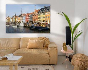 Buntes Kopenhagen von Eddo Kloosterman