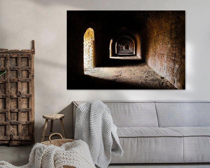 Sfeerimpressie: Mysterieuze verlaten steenfabriek van Devin Meijer