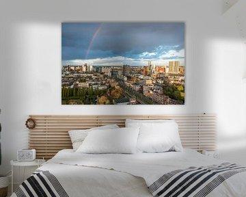 Skyline Rotterdam von AdV Photography