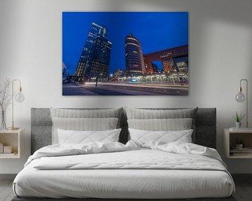 Nighttrails Rotterdam von AdV Photography