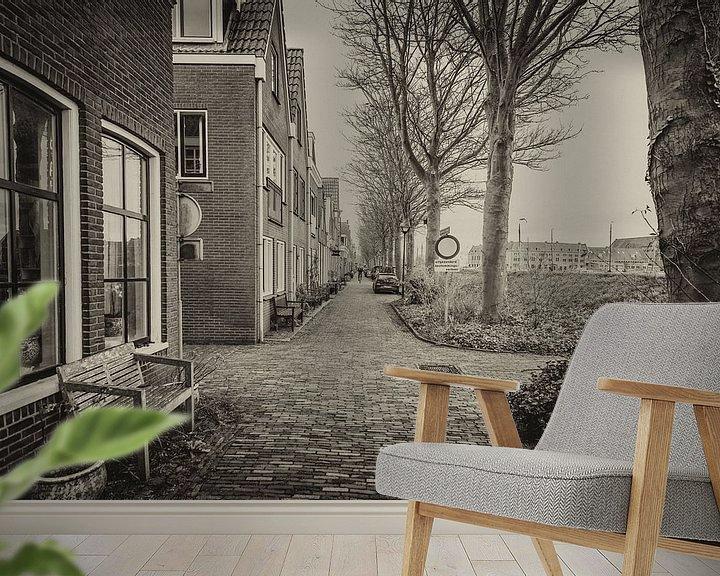 Sfeerimpressie behang: Haven van Hoorn van Paul Tolen