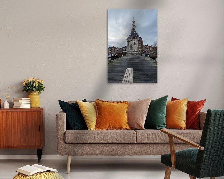 Sfeerimpressie: Het oude Centrum van Hoorn van Paul Tolen