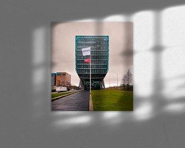 Kantoor gebouw van glas von Paul Tolen