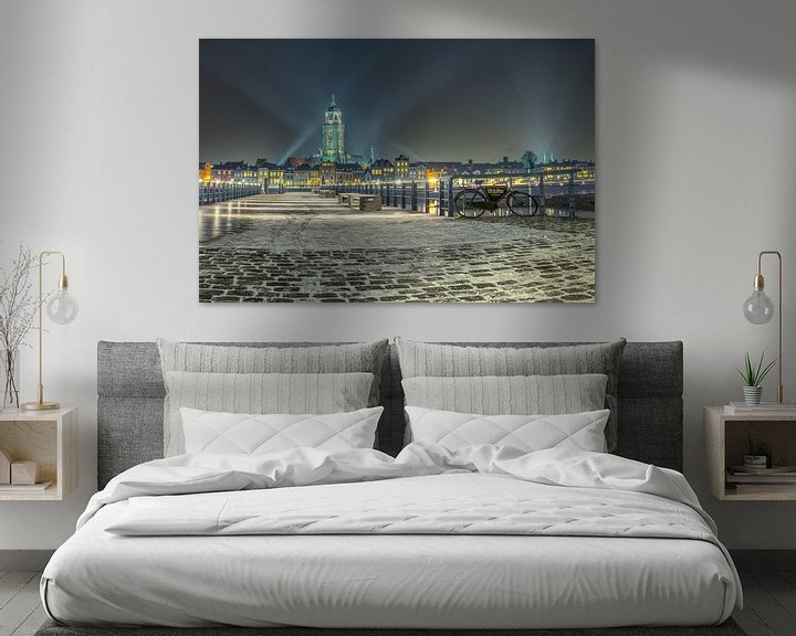 Sfeerimpressie: Skyline Deventer van Jeroen Weideman