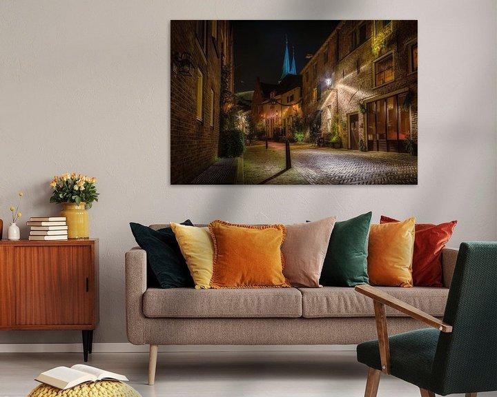 Sfeerimpressie: Deventer, Roggestraat van Jeroen Weideman