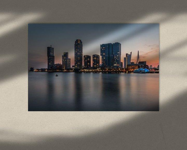 Sfeerimpressie: Rijnhaven Rotterdam van Peter Hooijmeijer