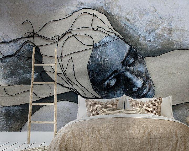 Beispiel fototapete: Schlafen von Kim Rijntjes