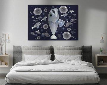 Diepzeevissen van Wilfried van Dokkumburg