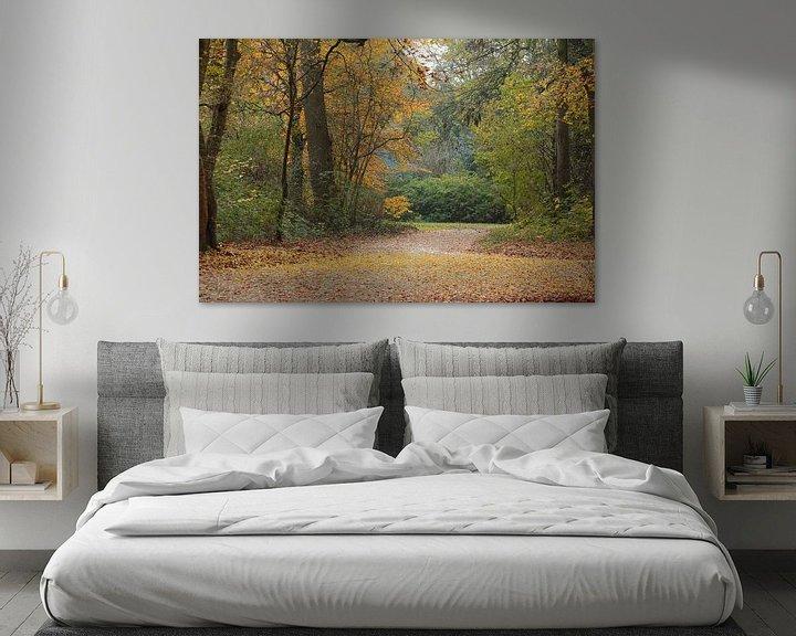 Sfeerimpressie: De herfst in het bos van Ronald Smits