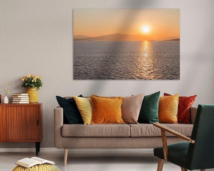 Sfeerimpressie: Sfeervolle zonsopkomst van Miranda van Hulst