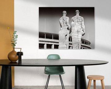 Berlin - Olympiastadion von Alexander Voss